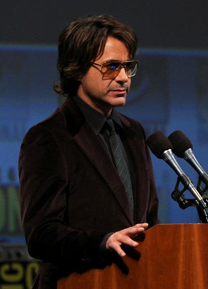 In foto Robert Downey Jr. (54 anni) Dall'articolo: Comic-Con 2010: The Avengers, presentato il cast.