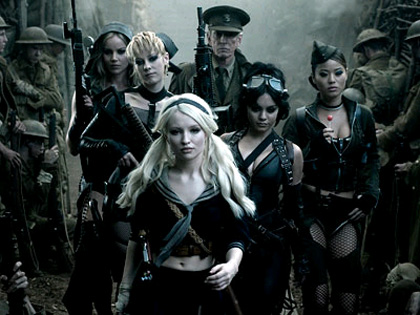 In foto Emily Browning (31 anni) Dall'articolo: Comic-Con 2010: Sucker Punch, draghi, mecha, zombie e ninja.