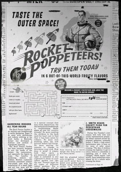 Gelati e magliette -  Dall'articolo: Comic-Con 2010: Super 8, il virale e i gelati dei Rocket Poppeteers.