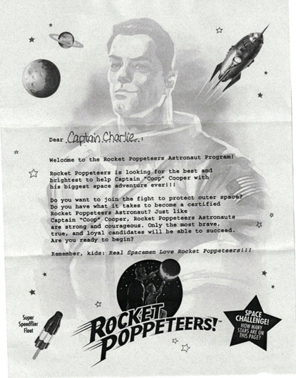 La lettera per il virale al Comic-Con -  Dall'articolo: Comic-Con 2010: Super 8, il virale e i gelati dei Rocket Poppeteers.