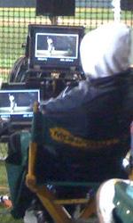 Moneyball: prime foto sul set di Philip Seymour Hoffman - Durante le riprese