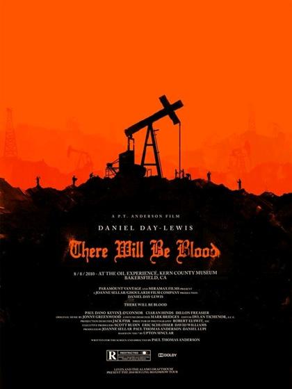 Il petroliere -  Dall'articolo: Rolling Roadshow Movie 2010: i poster di Olly Moss.
