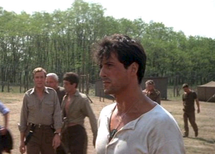 In foto Sylvester Stallone (74 anni) Dall'articolo: Film in Tv: giovedì 12 agosto.