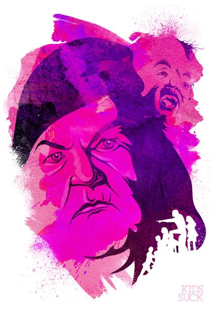 Mama Fratelli -  Dall'articolo: 52 Bad Dudes: le illustrazioni di Adam Sidwell.