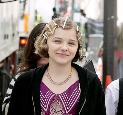 In foto Chloë Grace Moretz (23 anni) Dall'articolo: Hugo Cabret: il primo film in 3D di Martin Scorsese.