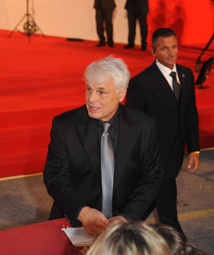 In foto Michele Placido (72 anni) Dall'articolo: Vallanzasca: il red carpet.