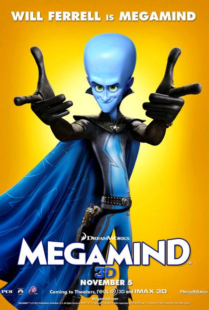 In foto Will Ferrell (52 anni) Dall'articolo: Megamind: i character poster di Minion, Metro Man e Megamind.