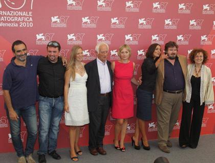 In foto Giorgia Salari Dall'articolo: Notizie degli scavi: a Venezia un film italiano anticonvenzionale e audace.