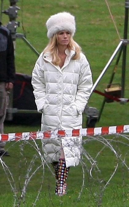 In foto January Jones (40 anni) Dall'articolo: X-Men: First Class, primo sguardo a Emma Frost.