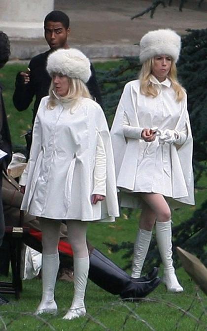 In foto January Jones (42 anni) Dall'articolo: X-Men: First Class, primo sguardo a Emma Frost.