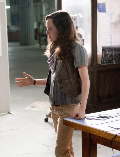 In foto Ellen Page (32 anni) Dall'articolo: Inception: forse so come tornare a casa.