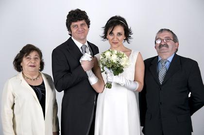 In foto Lucia Ocone (47 anni) Dall'articolo: Maschi contro femmine: la fotogallery.