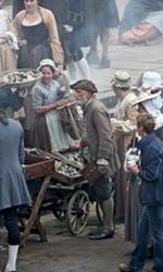 Pirates of the Caribbean: On Stranger Tides, Depp sul set di Greenwich - Keith Richards interpreta il capitano Teague.