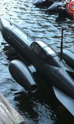 Captain America: The First Avenger, rivelato il sottomarino dell'Hydra - Il sottomarino al Stanley Dock di Liverpool