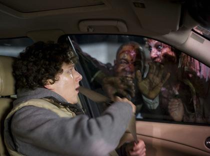 In foto Jesse Eisenberg (36 anni) Dall'articolo: Horror Frames: Benvenuti a Zombieland.