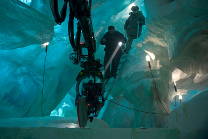 Il set a Toronto -  Dall'articolo: The Thing: prime immagini del prequel de