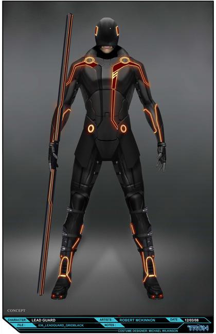 Un concept art -  Dall'articolo: Tron: Legacy, le foto del pre-test di ElecTRONica.