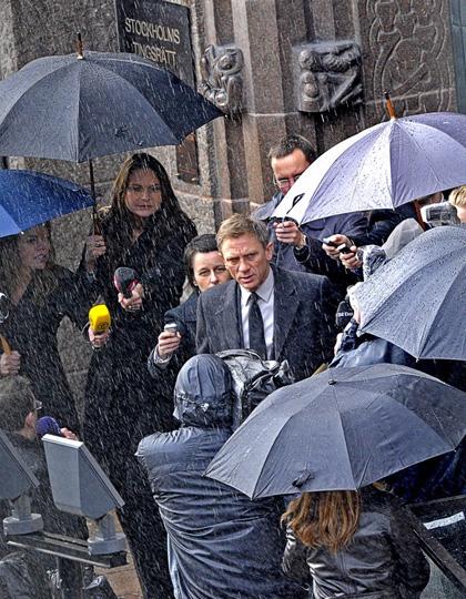 In foto Daniel Craig (51 anni) Dall'articolo: The Girl With the Dragon Tattoo: le foto di Craig nei panni di Mikael Blomkvist.