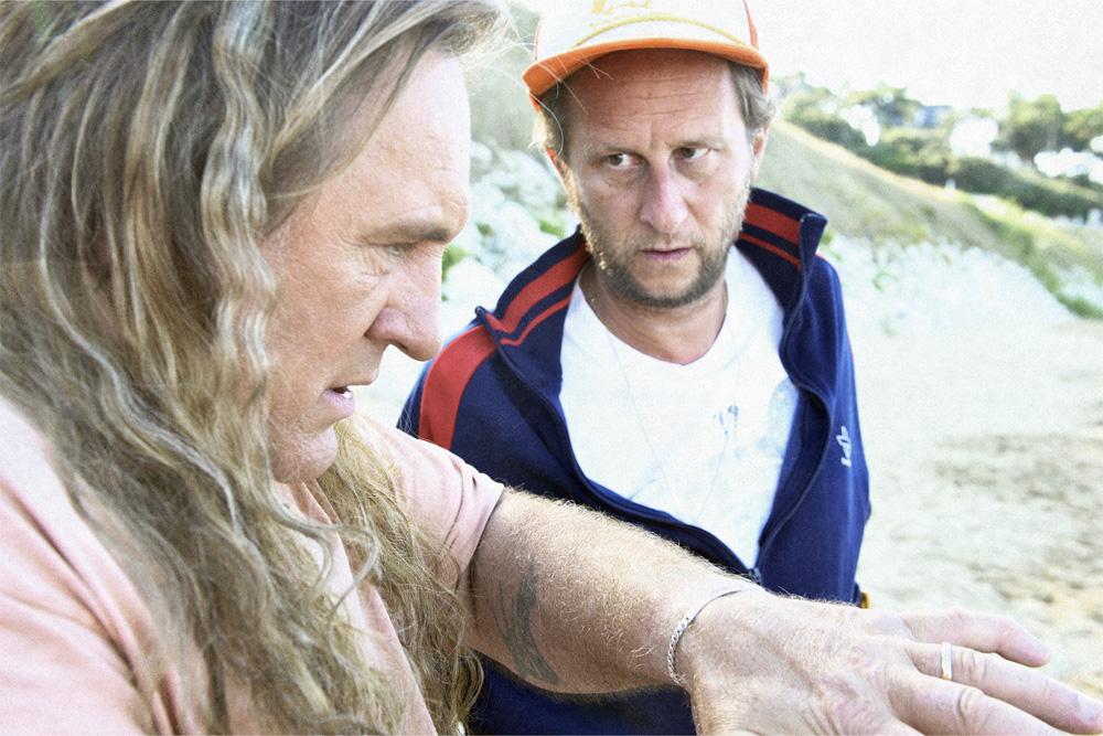In foto Benoît Poelvoorde (55 anni) Dall'articolo: Un viaggio in moto con Depardieu.