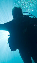 Un viaggio in 3D nella più profonda caverna del mondo - Una scena del film.