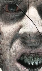 Primo piano di uno zombie -  Dall'articolo: Se il vicino di casa è uno zombie....