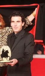 Roma 2010: Kill me Please miglior film - Virgile Bramly, Zazie de Paris e Olias Barco durante il photocall per la premiazione per il miglior film a Kill Me Please.