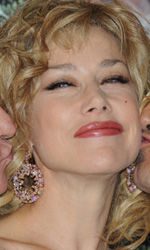 In foto Nancy Brilli (56 anni) Dall'articolo: Difendo il mio film dalle accuse di volgarità.