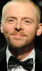 In foto Simon Pegg (51 anni) Dall'articolo: La premiere londinese di Le cronache di Narnia - Il viaggio del veliero.