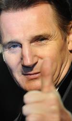 In foto Liam Neeson (68 anni) Dall'articolo: La premiere londinese di Le cronache di Narnia - Il viaggio del veliero.