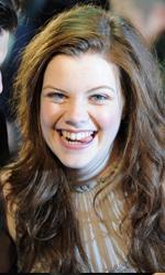 In foto Georgie Henley (26 anni) Dall'articolo: La premiere londinese di Le cronache di Narnia - Il viaggio del veliero.