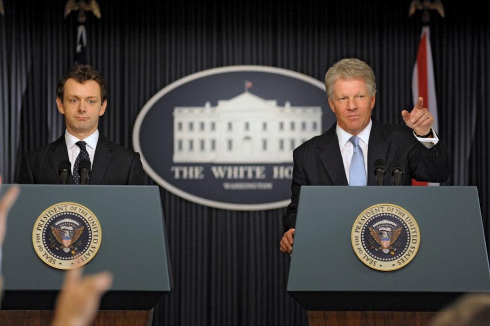 In foto Michael Sheen (52 anni) Dall'articolo: La fotogallery del film I due presidenti.