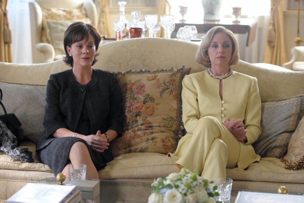In foto Helen McCrory Dall'articolo: La fotogallery del film I due presidenti.