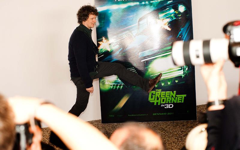 In foto Michel Gondry (57 anni) Dall'articolo: Il photocall del film The Green Hornet.
