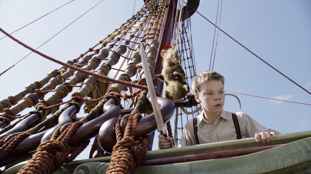 In foto Will Poulter (28 anni) Dall'articolo: La fotogallery delle Cronache di Narnia - Il viaggio del veliero.