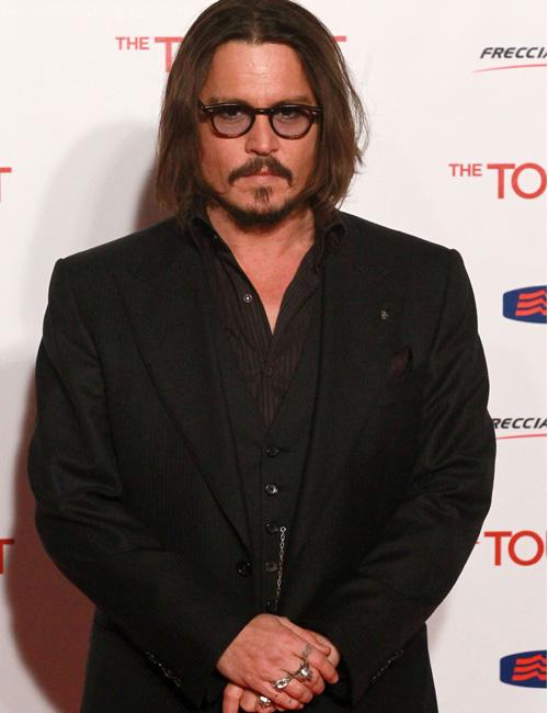 In foto Johnny Depp (57 anni) Dall'articolo: Il turista e la femme fatale.