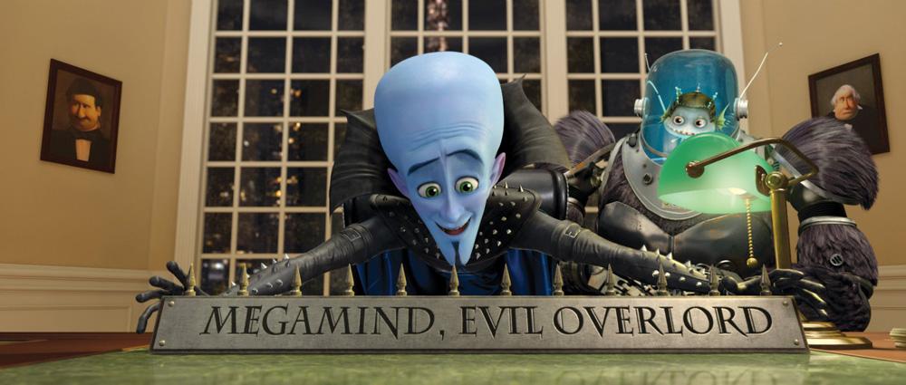 Megamind e Minion. -  Dall'articolo: La fotogallery del film Megamind.