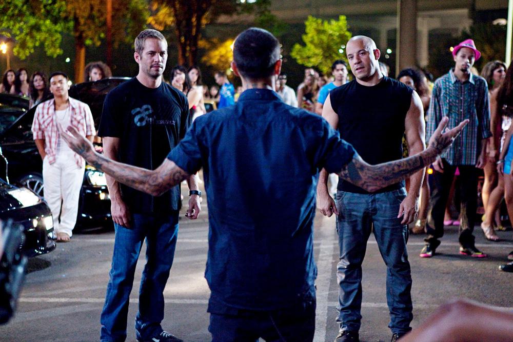 In foto Vin Diesel (51 anni) Dall'articolo: Trailer italiano e foto ufficiali del film Fast Five.