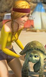 La fotogallery del film Le avventure di Sammy - Una scena del film d'animazione Le avventure di Sammy.