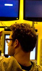 In foto Seth Rogen (37 anni) Dall'articolo: Online la featurette Un nuovo tipo di eroe.