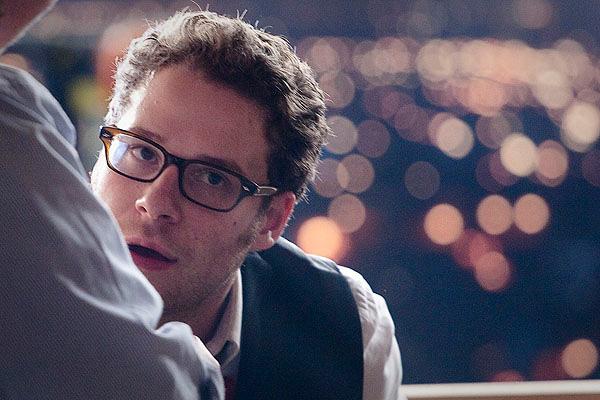 In foto Seth Rogen (38 anni) Dall'articolo: Online la featurette Un nuovo tipo di eroe.