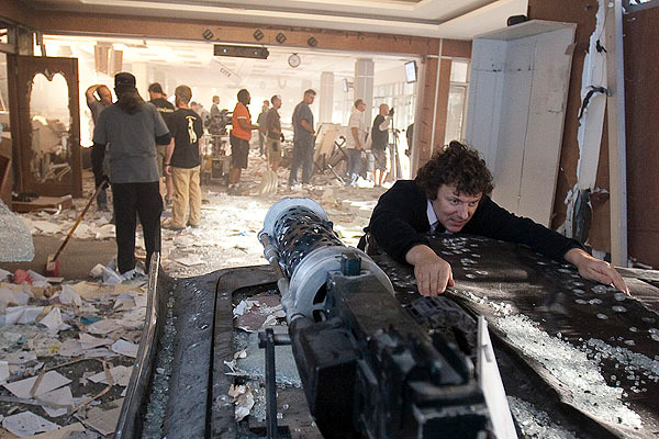In foto Michel Gondry (58 anni) Dall'articolo: Online la featurette Un nuovo tipo di eroe.