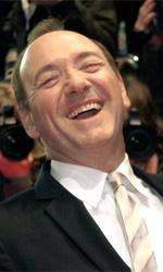 Berlinale 2011: Il red carpet di Margin Call - Kevin Spacey alla premiere di Margin Call tra Zachary Quinto e Paul Bettany.