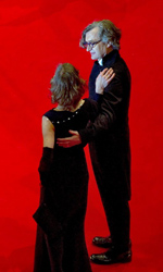 Omaggio in 3D a un'amicizia durata 40 anni - Wim Wenders insieme alla moglie Donata alla premiere di Pina.