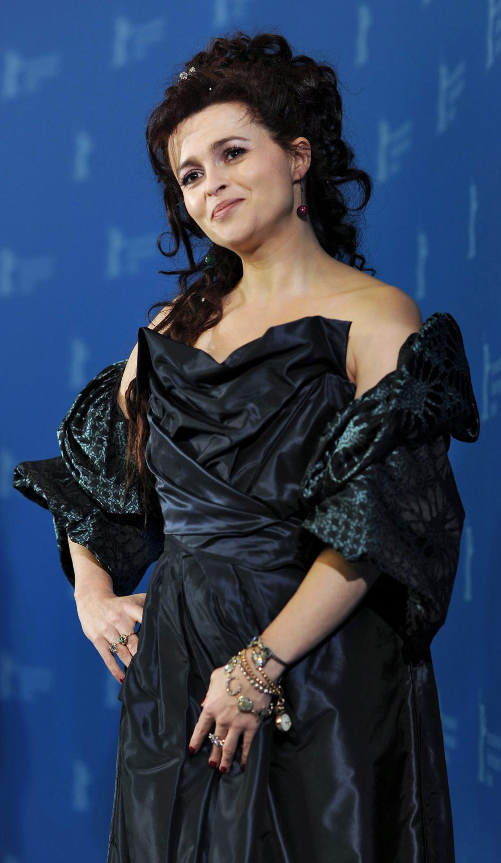 In foto Helena Bonham Carter (55 anni) Dall'articolo: Ho lavorato solo d'istinto.