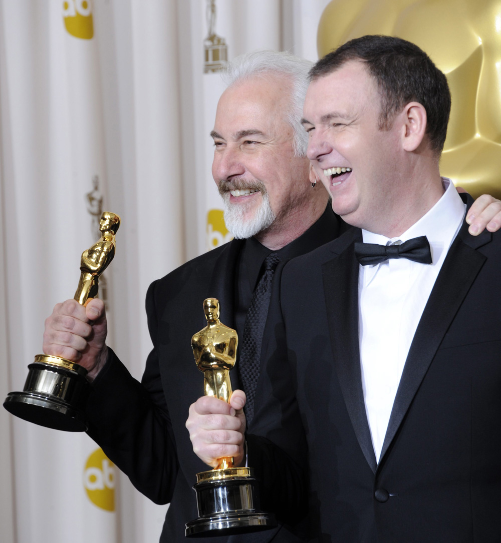 In foto Rick Baker (70 anni) Dall'articolo: Oscar, trionfa Il discorso del re.