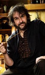 Le foto di Peter Jackson a Bag End - Il regista Peter Jackson all'interno di Bag End, la casa di Bilbo Baggins.