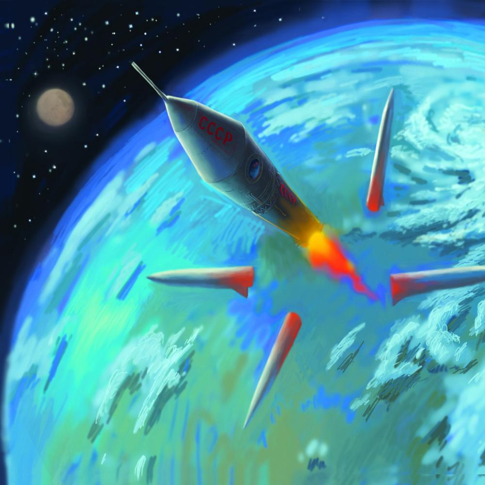 Una scena del film Space Dogs 3D. -  Dall'articolo: Space Dogs 3D, le foto.