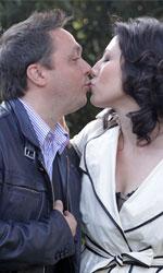Un medico uno e trino - Gabriele Cirilli e Beatrice Fazi alla presentazione della serie Rai 1 Un medico in famiglia