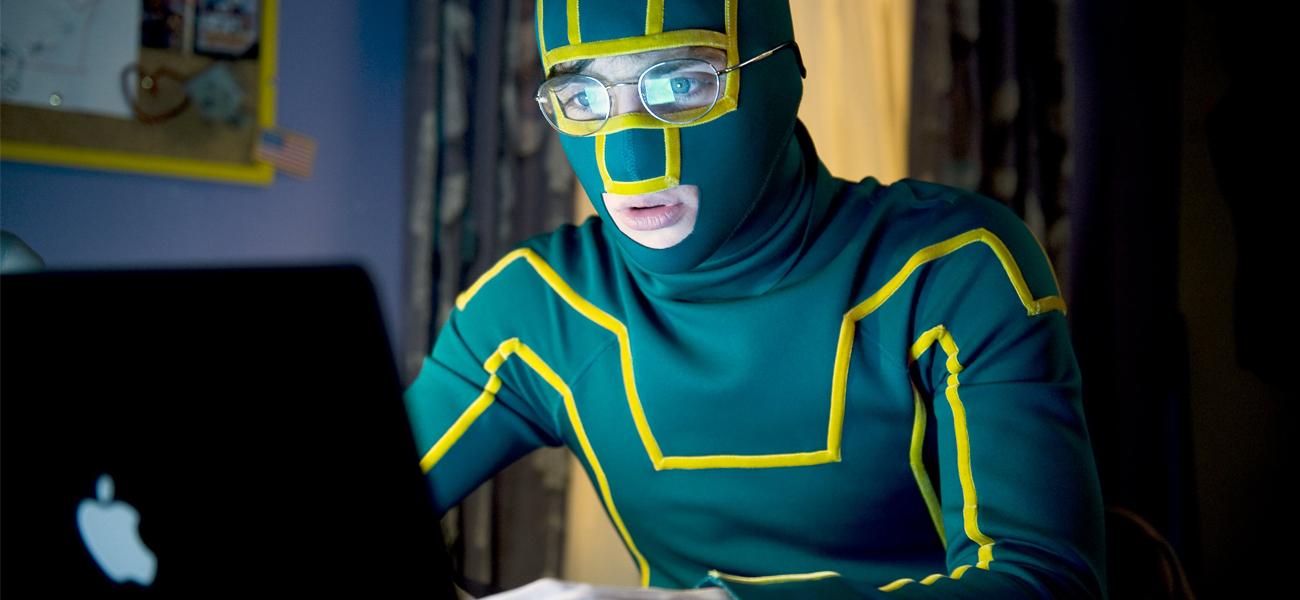 In foto Aaron Taylor-Johnson (28 anni) Dall'articolo: La distruzione del mito del supereroe.