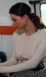 Michelle Bonev: 'Il mio film è la mia difesa' - Teodora ed Elena in ambulanza con la nonna Maria in una scena del film Goodbye mama.